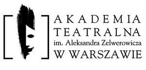 Logo Akademii Teatralnej im. Aleksandra Zelwerowicza w Warszawie