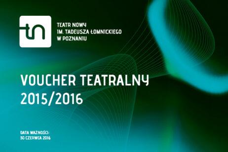 Ilustracja Vouchera Teatralnego 2015/2016
