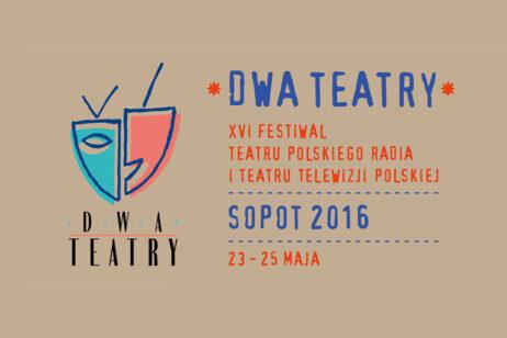 Logo Festiwalu Dwa Teatry